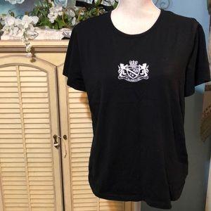 Ralph Lauren Active T shirt s/s black XL cotton